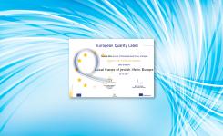Raul Dória recebe Selo de Qualidade Europeu
